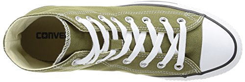 Converse, All Star HI Canvas Seasonal, Sneaker, Unisex - adulto Verde (6 Vert Cactus)