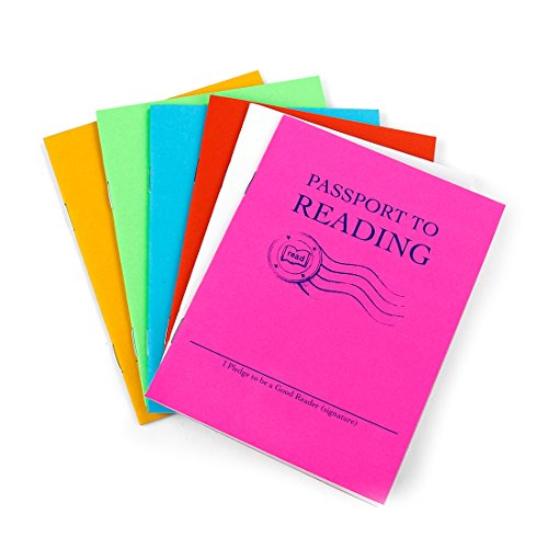 HYGLOSS 32512Passport zu lesen Buch, 2,5cm Höhe, 10,8cm Breite, 14cm Länge (12Stück)