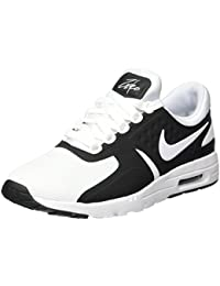 Nike Women's Air Max Zero Black/White Running Shoe 5. 5 Women US