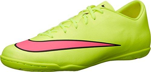 Nike Jr. Mercurial Vapor V FG Soccer Cleat (Volt) 5.5Y