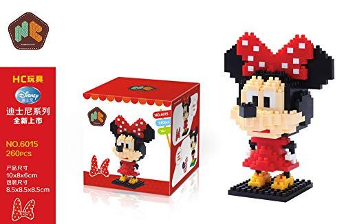 THTB Disney Micky Maus & Freunde Baustein-Set ca.10cm Minnie Maus