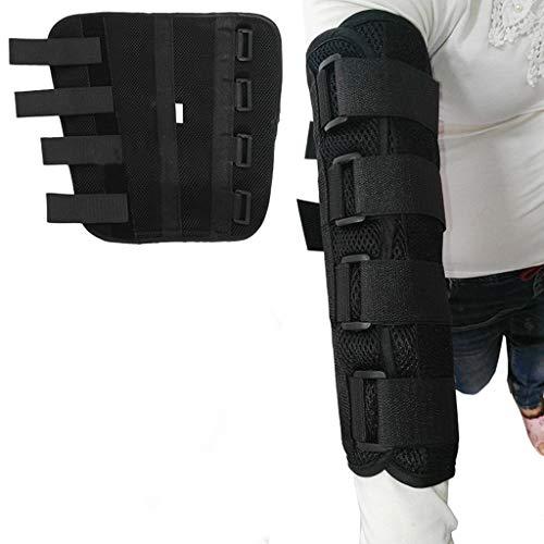 Elbow Brace Immobilizzatore del Gomito del Braccio steccato cubitale, tutore del Nervo Ulnare, stabilizzatore della frattura, Involucro del Supporto per protettore Notturno, Dimensioni (S/M/L)
