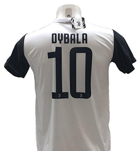 Maglia Calcio Paulo Dybala 10 la Joya Juventus Replica Autorizzata 2017-2018 bambino (taglie 2 4 6 8 10 12) adulto (S M L XL) (8 anni)