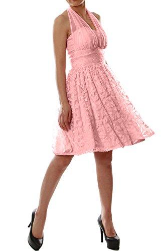 MACloth - Robe - Trapèze - Sans Manche - Femme Blush Pink