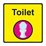 Dementia Friendly Toilet Sign (150 x 150mm)