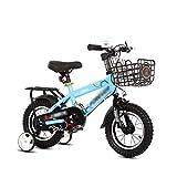 FINLR-Kinderfahrräder Fahrrad for Mädchen Und Jungen 4 Farben In Größe 12