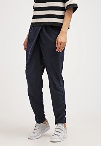 Anna Field Stoffhose Damen Schwarz Dunkelblau, unifarben mit Seitentaschen & elastischem Bund Abbildung 3