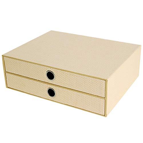 Office Desktop Box datei, Einfache A4-dateibox Ablagefächer Datei Tasche Wohnzimmer Aufbewahrungsbox-Khaki Dk Khaki