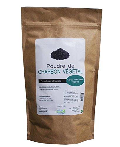 Medio kg de carbón vegetal activado en polvo