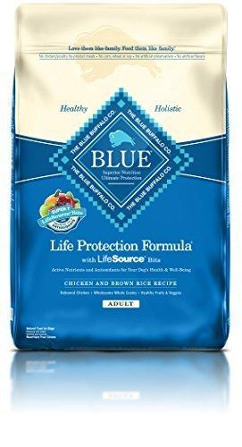 Blue Buffalo Blue Adult Dog Chicken & Brown Rice 15Lb by Blue Buffalo