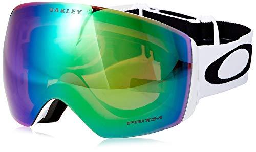 Oakley Herren Flight Deck 705036 0 Sportbrille, Weiß (Matte White/Prizmjadeiridium), 99