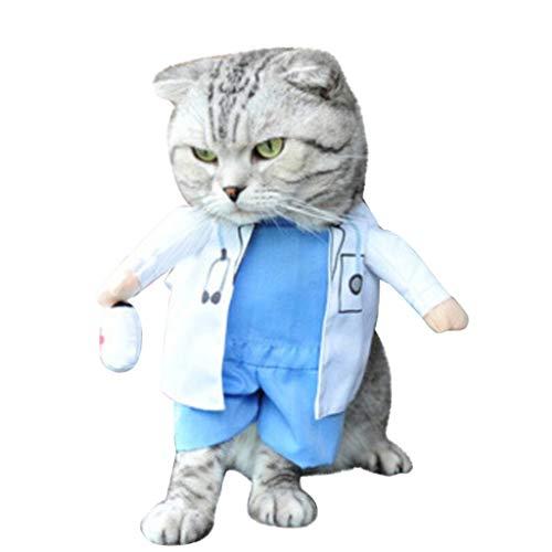 Boy Kostüm Old 2 Yr - Skryo ♦♦ Katze Kleidung Haustier Spaß Kostüm Kleid Rollenspiel-Stil abzuschließen (XL, C)