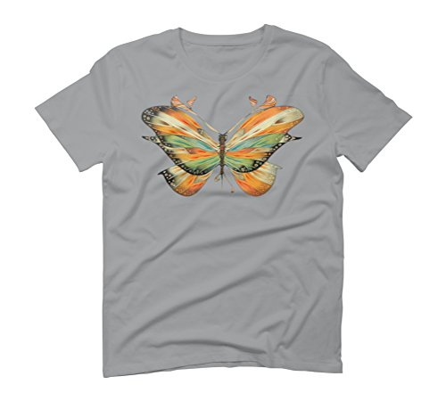 colorful butterfly Men's Graphic T-Shirt - Design By Humans Opal