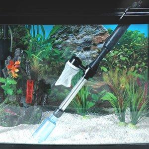 Aspirateur de fond d'aquarium, fonctionnement à piles