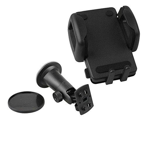 HR Global 8 Saugfuß KFZ Halterung Auto Halter + HR Gerätehalterung UPM1245 für Palm Treo Pro 850 Centro -