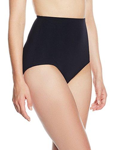 Sunflair Damen Bikinihose 21428, (schwarz 5), 44