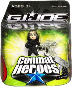 G.I. Joe The Rise of Cobra Combat Heroes Single Pack Baroness