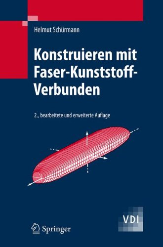 Konstruieren mit Faser-Kunststoff-Verbunden (VDI-Buch) Buch-Cover