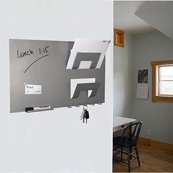 Memoboard Schlüsselbrett in Weiß mit Tafel im Landhaus