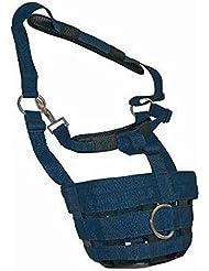 JHL–Comfort pastando muzzle- elegir tamaño y color. Azul azul marino
