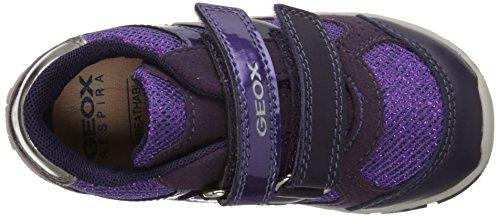 Geox - Shaax G A, Scarpina Primi Passi per bimbi Viola (Purple (Prune))