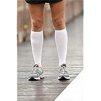 kingnew Compression Sport Socken Herren Damen Kalb Shin Bein Socken Running Fitness (weiß £ ¬ L/XL) preisvergleich bei billige-tabletten.eu