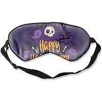 Schlafmaske, bunt, Karte, Halloween-Print, tiefer Ruhe, konturierte Augenmaske preisvergleich bei billige-tabletten.eu