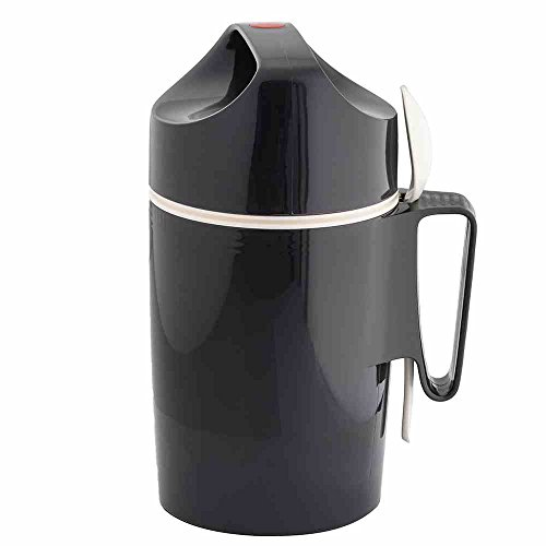 Rotpunkt Speisegefäß 0,85 Liter, Slate Grey, Kunststoff, Grau, 12.1 x...
