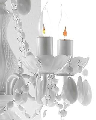 Design4home Kronleuchter 5-armig weiß von roomproducts - Lampenhans.de