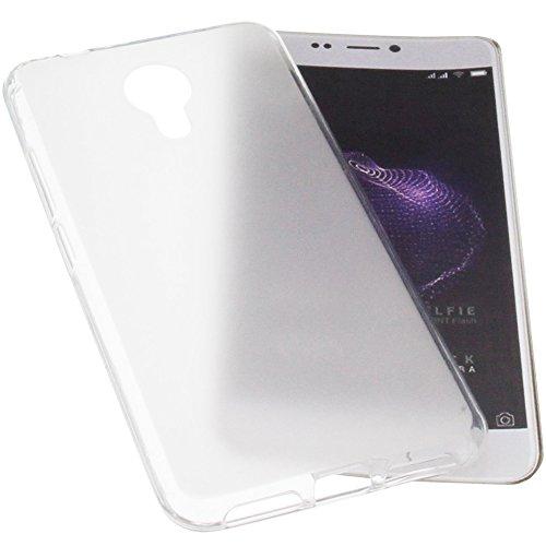 foto-kontor Tasche für Allview X4 Soul Style Gummi TPU Schutz Handytasche transparent weiß