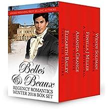 Belles & Beaux: Regency Romantics Winter 2018 Box Set (English Edition)