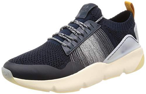 Ivory Mist (Cole Haan Herren Zerogrand All-Day Trainer Sneaker, Blau (Blueberry/Black/Morning Mist/Golden Orange/Ivory Blueberry/Ivory), 45 EU (12 M US))