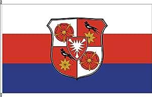 Hochformatflagge Land Schaumburg-Lippe (mgrW) - 80 x 200cm - Flagge und Fahne
