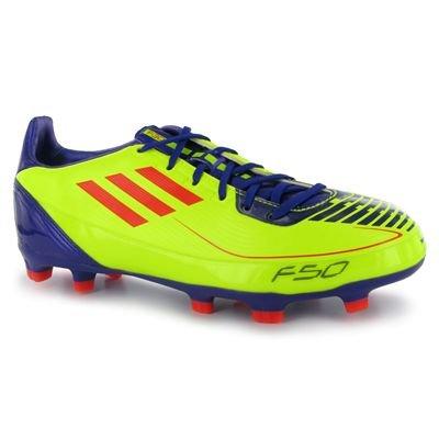 adidas F30 Trx Fg J, Chaussure de football garçon Neon