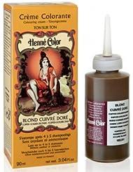 SITARAMA Hennè Color Crème Colorante au Henné - BLOND CUIVRE DORE- Yumi Bio Shop