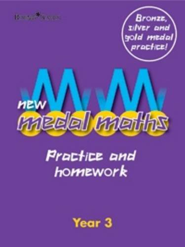 New Medal Maths Practice and Homework Year 3