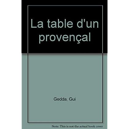 La table d'un Provençal