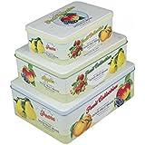 Juego de 3 cajas Fruits