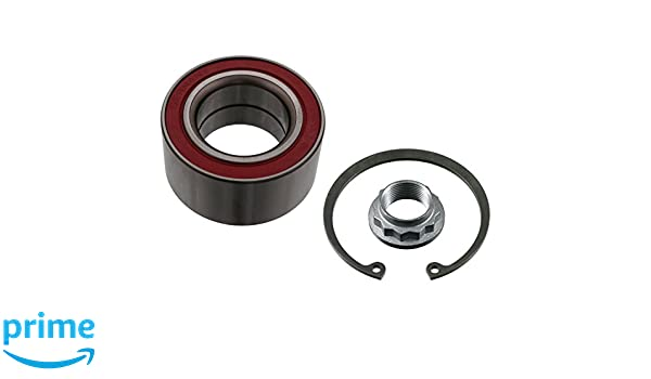 febi bilstein 18191 Wheel Bearing Kit with axle nut and circlip pack of one