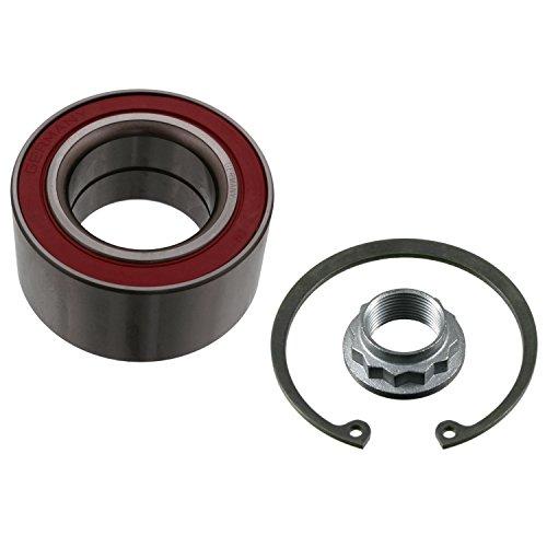febi bilstein 21996 Radlagersatz mit Achsmutter und Sicherungsring (Hinterachse beidseitig) Radlager, 1 Stück
