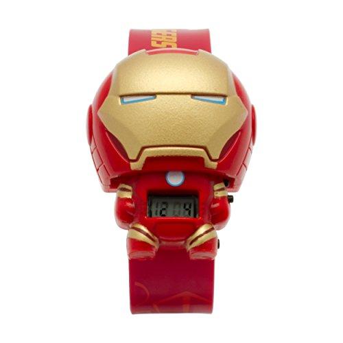 Marvel Iron Man Bulbbotz 2020138 -  Orologio da Polso Unisex Bambini
