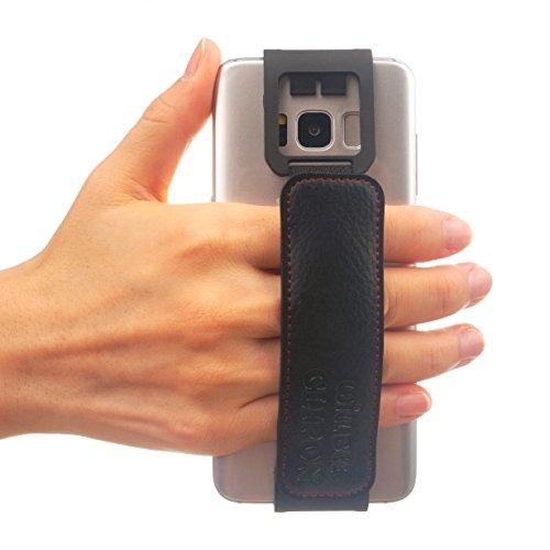 WiLLBee CLIPON 2 Wide für Smartphone (Smartphone Größe : 5.4~6 Zoll) Elastisches Halteband Hand Griffgefühl hülle Halter für Handys - Galaxy S9, Galaxy S8, Galaxy S7 Edge, Galaxy S6 Edge, LG G6, G5