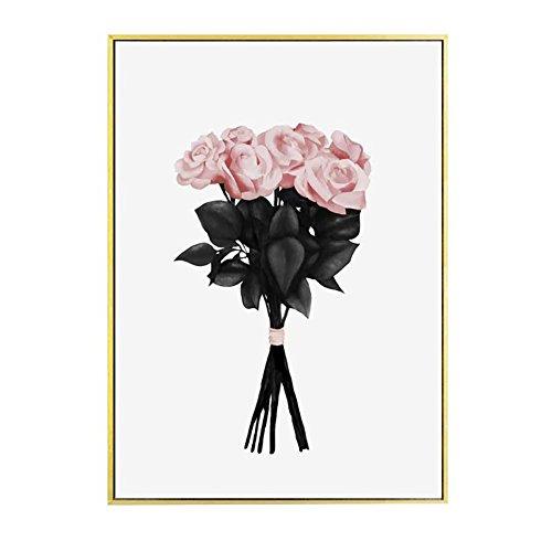 bdrsjdsb Nordic Blumenstrauß Leinwand Poster Malerei Home Wohnzimmer Schlafzimmer Wandbild 40 cm x 50 cm -