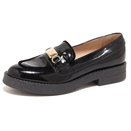 5185P mocassino LIU JO DORIS nero scarpa donna loafer woman [35]