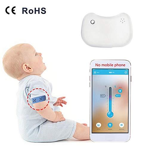 Monitor inteligente fiebre bebé 24 horas alertas