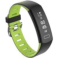 HUIGE Reloj Conectado, Rastreador De Actividad Física Monitor De Frecuencia Cardíaca Resistente Al Agua IP67