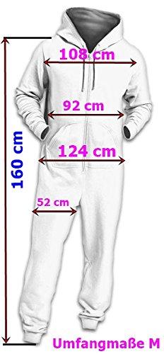 Crazy Age Jumpsuit Renntier Motiv Elefanten Design Overall Indianstyle (Schwarz (601), M=38) - 5