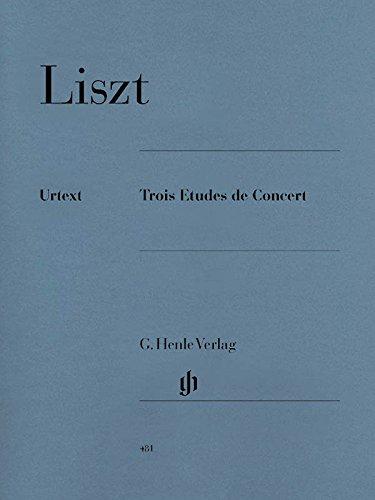 3 Études de Concert (Il Lamento-Leggierezza-un Sospiro) --- Piano