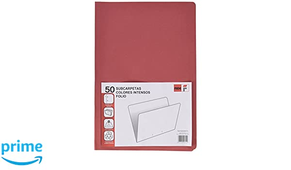 /Pack di 50/cartelline semplici riciclate colore: verde Elba Fade/ Verde