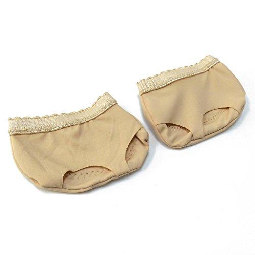 Wgwioo Bauch / Ballett Tanz Toe Pad Praxis Schuhe Fuß Tanga Schutz Tanz Socken Kostüm Gamaschen Zubehör Drei Löcher . B . (Bauch Loch Kostüme)